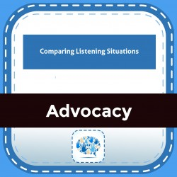 Comparing Listening Situations