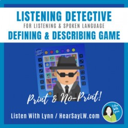 LISTENING DETECTIVE - Defining and Describing Game