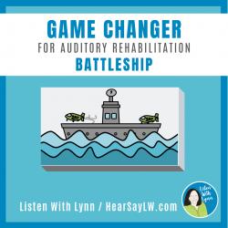 Auditory Rehab - Auditory Training BATTLESHIP Game