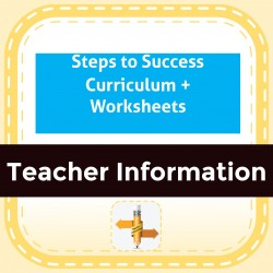 Steps to Success Curriculum + Worksheets