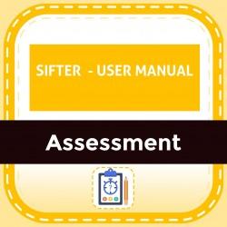 SIFTER  - USER MANUAL