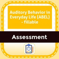 Auditory Behavior in Everyday Life (ABEL) - fillable