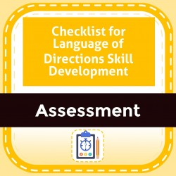 Checklist for Language of Directions Skill Development