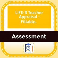 LIFE-R Teacher Appraisal