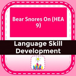 Bear Snores On (HEA 9)