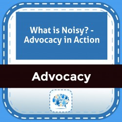 What is Noisy? - Advocacy in Action
