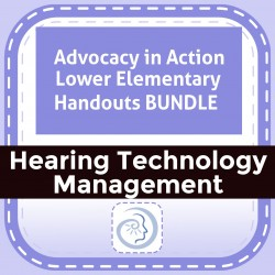 Advocacy in Action Lower Elementary Handouts BUNDLE