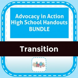 Advocacy in Action High School Handouts  BUNDLE