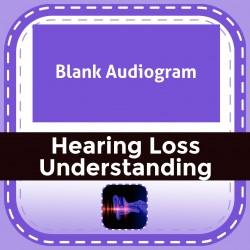 Blank Audiogram
