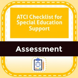 ATCI Checklist for Special Education Support