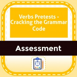 Verbs Pretests - Cracking the Grammar Code