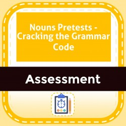 Nouns Pretests - Cracking the Grammar Code