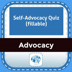 Self-Advocacy Quiz (fillable)