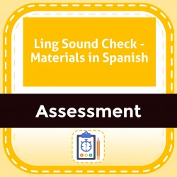 Ling Sound Check - Materials in Spanish
