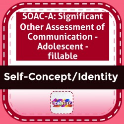SOAC-A: Significant Other Assessment of Communication - Adolescent - fillable