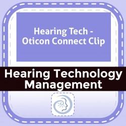 Hearing Tech - Oticon Connect Clip