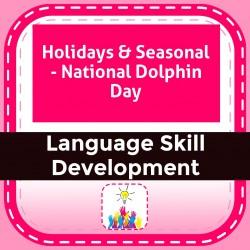 Holidays & Seasonal - National Dolphin Day