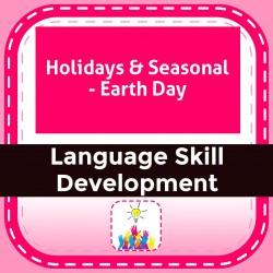 Holidays & Seasonal - Earth Day