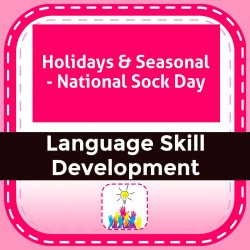 Holidays & Seasonal - National Sock Day