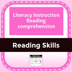 Literacy Instruction Reading comprehension