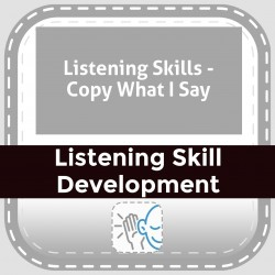 Listening Skills - Copy What I Say