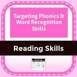 Targeting Phonics & Word Recognition Skills