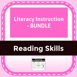 Literacy Instruction - BUNDLE