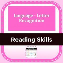language - Letter Recognition