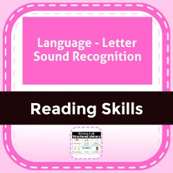 Language - Letter Sound Recognition