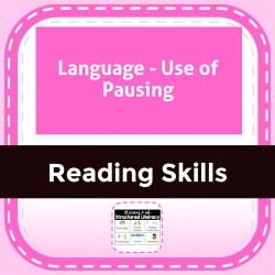 Language - Use of Pausing