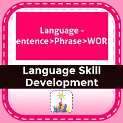 Language - Sentence>Phrase>WORD