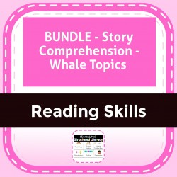 BUNDLE - Story Comprehension - Whale Topics
