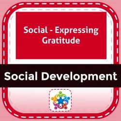Social - Expressing Gratitude