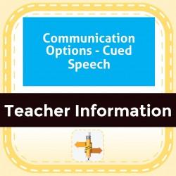 Communication Options - Cued Speech