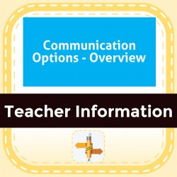 Communication Options - Overview