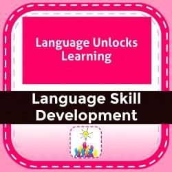 Language Unlocks Learning