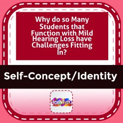 Why do so Many Students that Function with Mild Hearing Loss have Challenges Fitting In?