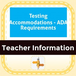 Testing Accommodations - ADA Requirements