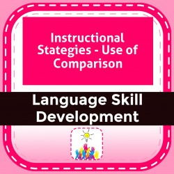 Instructional Stategies - Use of Comparison