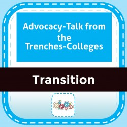 Advocacy-Talk from the Trenches-Colleges